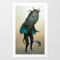 Mischievous Chacac Art Print