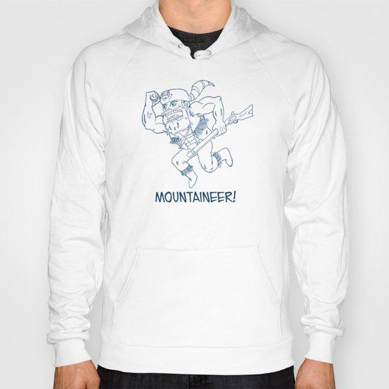 Mountaineer! (blue) Hoody