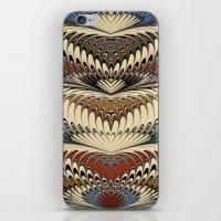 Marbling-1 iPhone & iPod Skin