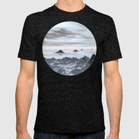 Frozen Arctic Sea Mens Fitted Tee Tri-Black SMALL