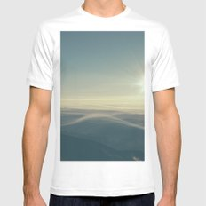 Breathe SMALL Mens Fitted Tee White