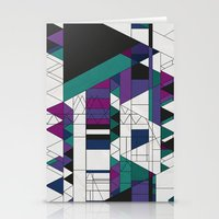 Triangled! Stationery Cards
