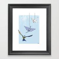 Birds #3 Framed Art Print