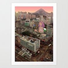 Kwun Tong Art Print