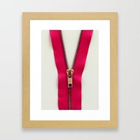 open way Framed Art Print