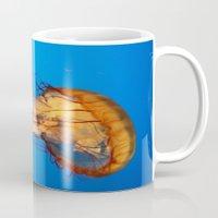 Jellyfish In Color Mug