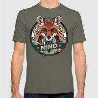 Mind Mens Fitted Tee Lieutenant SMALL