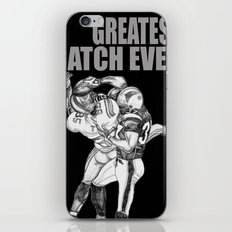 GREATEST CATCH EVER iPhone & iPod Skin