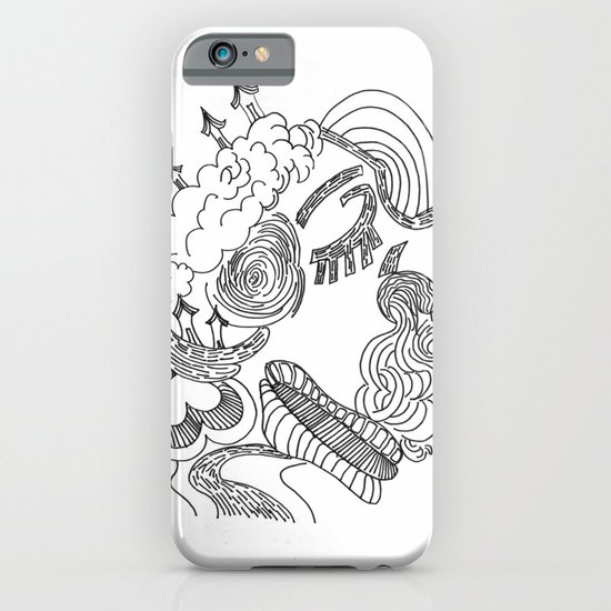 dreams in line iPhone & iPod Case