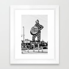 Circus Liquor Framed Art Print