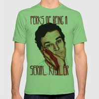 Dexter, The Perks Of Bei… Mens Fitted Tee Grass SMALL