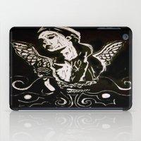 Black (Wings/Angel) iPad Case