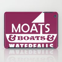 Moats and Boats and Waterfalls Graphic iPad Case