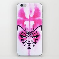 Kabuki Kreature iPhone & iPod Skin