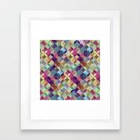 Circling Framed Art Print