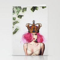 Queen Bitch Stationery Cards