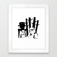 Troopers Framed Art Print