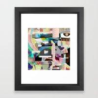 Save Face Framed Art Print