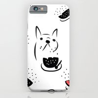 Water Melon Frenchie iPhone 6 Slim Case