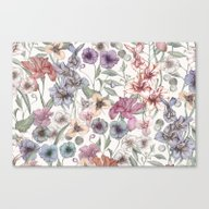 Magical Floral  Canvas Print