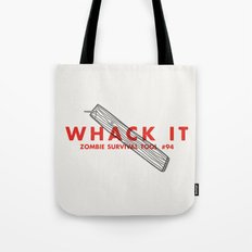 Whack it - Zombie Survival Tools Tote Bag