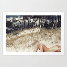 Overdressed Art Print