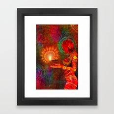 Festival of Lights Framed Art Print