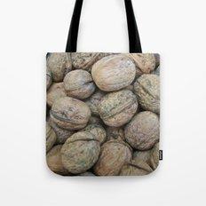 Autumn Walnuts Tote Bag