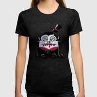 VAMPY Womens Fitted Tee Tri-Black SMALL