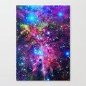 Astral Nebula Canvas Print
