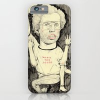 iPhone & iPod Case featuring Napoleon Dynamite by withapencilinhand