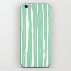 Vertical Living Mint iPhone & iPod Skin