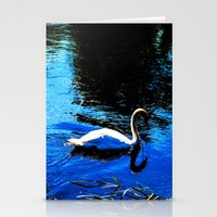 Swanning About Stationery Cards