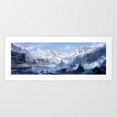 Welcome to Alaska  Art Print