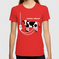 Moloko Vellocet Womens Fitted Tee Red SMALL