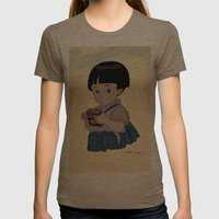 Grave of the Fireflies (Hotaru no haka) Womens Fitted Tee Tri-Coffee SMALL