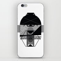 Make Things Slithy Different_the Mask iPhone & iPod Skin