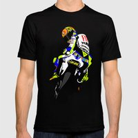 Valentino Rossi Mens Fitted Tee Black SMALL