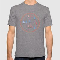 Allen's «Love and Death» Mens Fitted Tee Tri-Grey SMALL