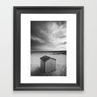 Beach Huts, Great Yarmou… Framed Art Print