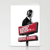 Georges Kaplan Presents... 'Drive-Thru' - Single artwork Stationery Cards