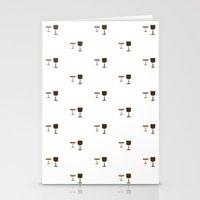 GLASS PATTERN Stationery Cards