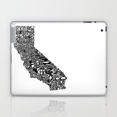 Typographic California Laptop & iPad Skin