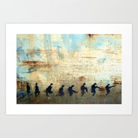Ministry of Silly Walks Art Print