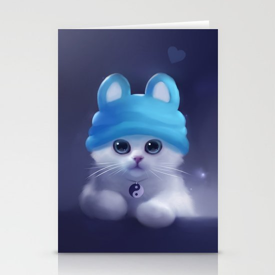 Yang The Cat Stationery Card