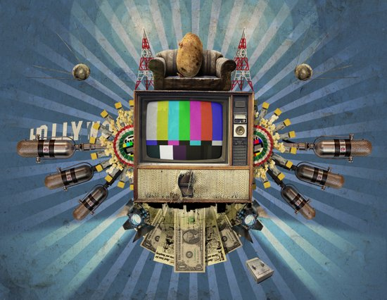 The  Television Will Not Be Revolutionised! Art Print
