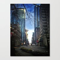 Hastings & Burrard Canvas Print