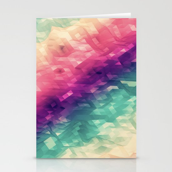 sea colors Stationery Card