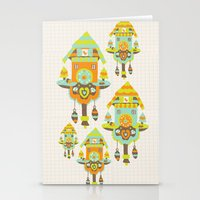 Clock Wall Stationery Cards