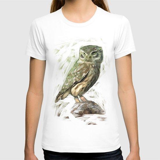 Olive Owl T-shirt